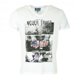Mc Homme Tee-Shirt Blanc