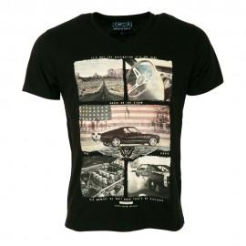 Apple Homme Tee-Shirt Noir
