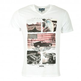 Apple Homme Tee-Shirt Blanc