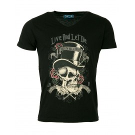 Black Homme Tee-Shirt Noir