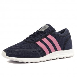 Los Angeles Femme Fille Chaussures Marine Adidas