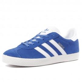 Gazelle Garçon Chaussures Bleu Adidas