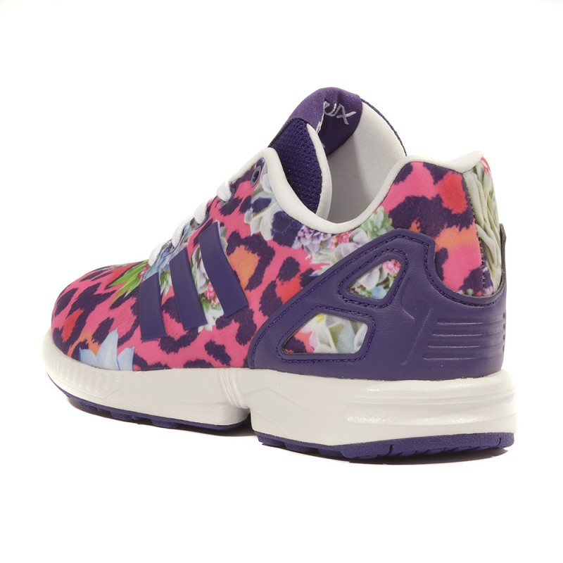 Fille reasonable Wzfdqzy07y Violet Adidas Rose Chaussures Flux Zx 5W1a0a