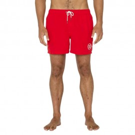 Valens Homme Short Volley-Ball Rouge Oxbow