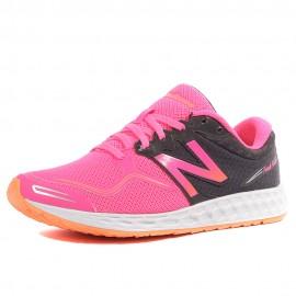 WVNZLA1 Femme Chaussures Running Noir Rose New Balance