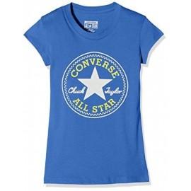 Chuck Patch Garçon Tee-Shirt Bleu Converse