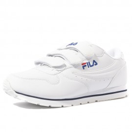 Orbit Velcro Femme Chaussures Blanc Fila