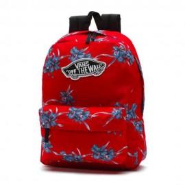 Realm Backpack Homme Femme Sac A Dos Rouge Vans