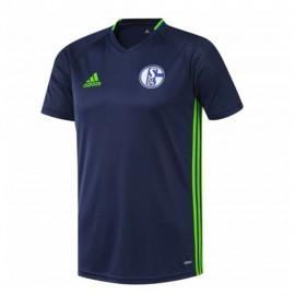 Shalke 04  Garçon Maillot de Football  Marine Adidas