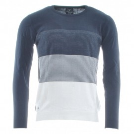 Rm Homme Pull Marine Rms26