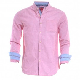 Rm Homme Chemise Rouge Rms26
