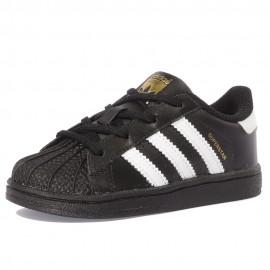 Superstar Bébé Garçon Chaussures Noir Adidas