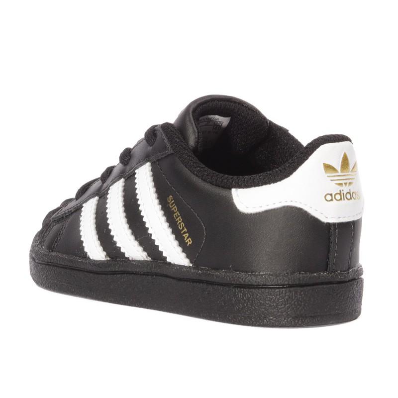 Superstar Noir Garçon Adidas Bébé Chaussures 2IHED9