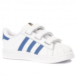 Superstar Bébé Garçon Chaussures Blanc Adidas