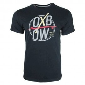 Sanfre Homme Tee-Shirt Noir Oxbow