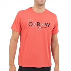 Tassaro Homme Tee-Shirt Rouge Corail Oxbow