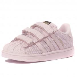 Superstar Bébé Fille Chaussures Rose Adidas