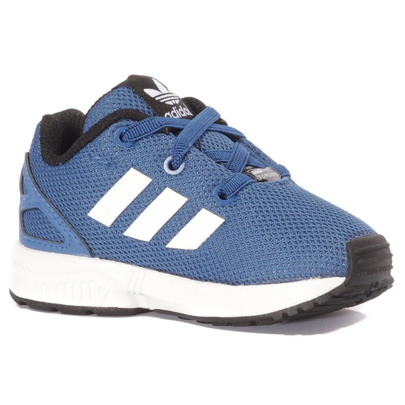 carbohidrato minusválido cubrir  Zx Flux Bébé Garçon Chaussures Bleu Adidas