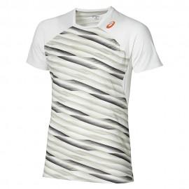 Athlete SS Homme Tee-Shirt Tennis Blanc Asics
