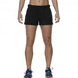 Fleece Femme Short Fitness Noir Asics