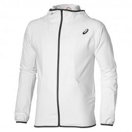 Athlete Homme Veste de Tennis Blanc Asics