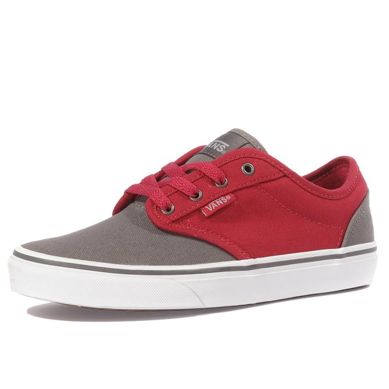 Garçon Yt 2 Chaussures Rouge Atwood Tone Vans TKFlJ1c3