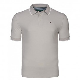 Homme Polo Gris Tommy Hilfiger