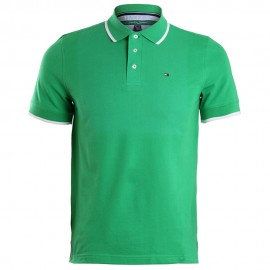 Polo Homme Vert Tommy Hilfiger