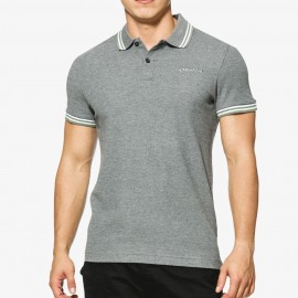 L73 Homme Polo Gris Lotto