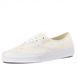 Ua Authentic Speckle Homme Femme Chaussures Beige Vans