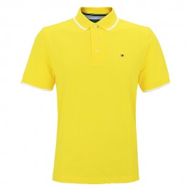 Polo Homme Jaune Tommy Hilfiger
