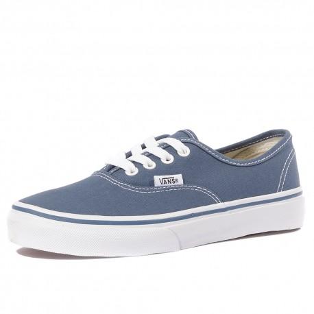 Uy Authentic Garçon Fille Chaussures Bleu Marine Vans