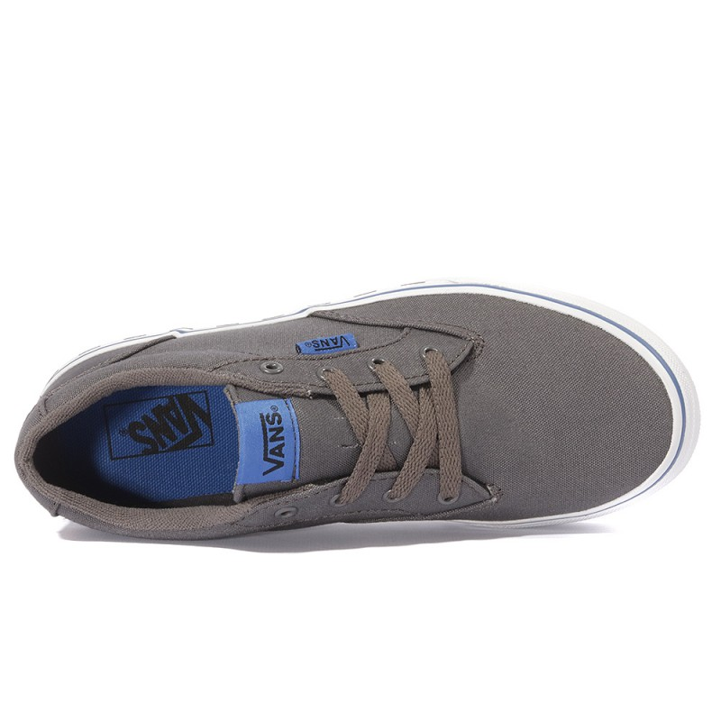 Chaussures Gris Bqxwo7pz Winston Yt Garçon Fox Vans Check yYbf67gv