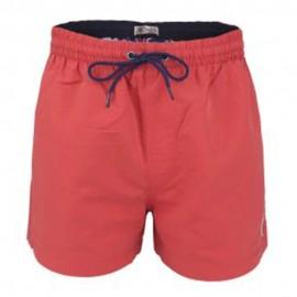 Gou Homme Short de Bain Rouge Pepe Jeans
