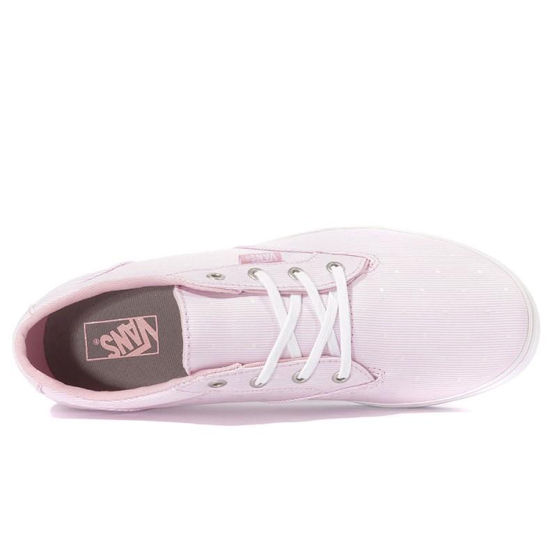 vans femme chaussure rose