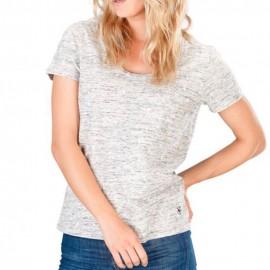 Brook Femme Tee-Shirt Gris Von Dutch
