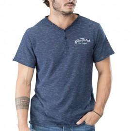 Murphy Homme Tee-Shirt Marine Von Dutch