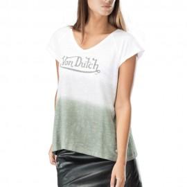 Adison Tee-Shirt Femme Blanc Von Dutch