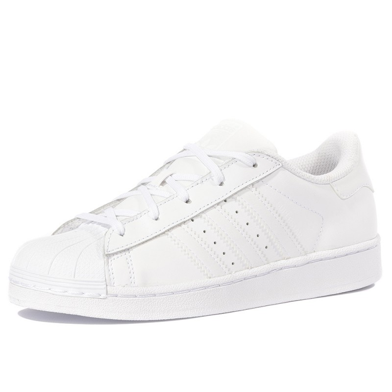 Superstar Garçon Fille Chaussures Blanc Adidas