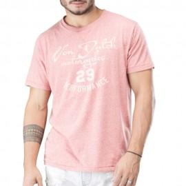 Bailey Homme Tee-Shirt Rose Von Dutch