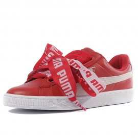 Heart Femme Chaussures Rouge Puma