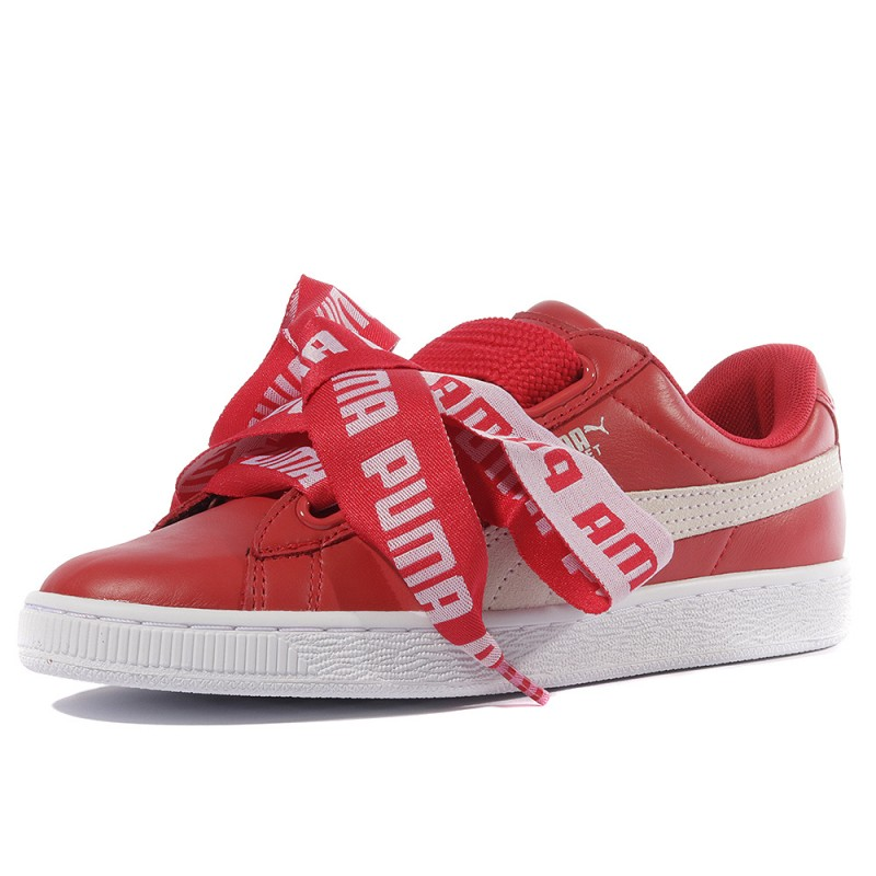 chaussures femme puma rouge