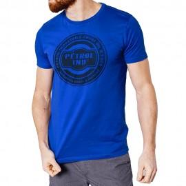 Ss R-Neck Homme Tee-Shirt Bleu Petrol Industries