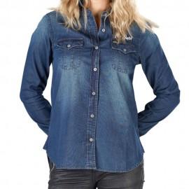 Janie Femme Chemise Bleu Von Dutch
