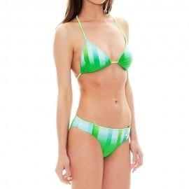 Bg Q2 Femme Maillot de Bain Vert Adidas