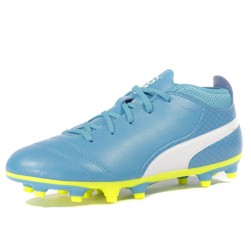 17 Football Chaussures One Puma Fg Garçon Bleu 4 vmn0w8N