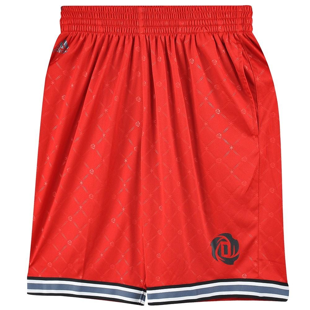 revendeur 4ec94 76ca2 Détails sur Rose Every Homme Short Basket Rouge Adidas Rouge
