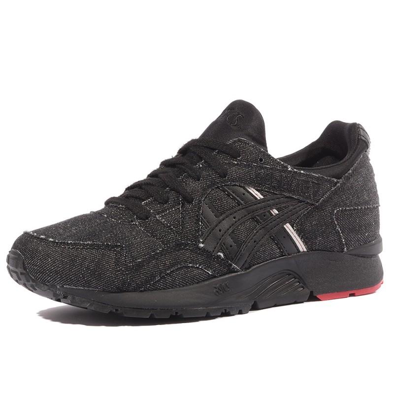 Chaussures Asics V Homme Garçon Noir Lyte Gel K31lcTJF
