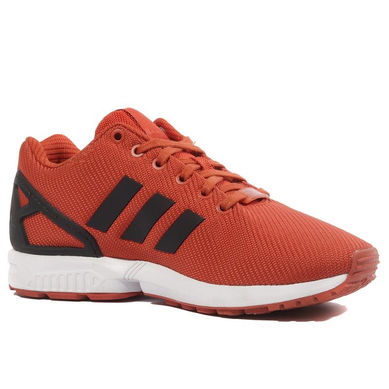 adidas zx flux noir semelle orange