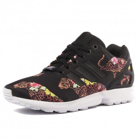 ZX Flux Femme Chaussures Noir Adidas